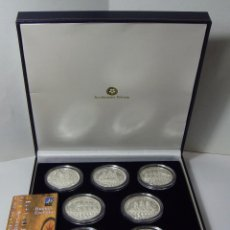 Monedas FNMT: MONEDAS DE COLECCIÓN. PLATA. BUQUES ESCUELA. CON CAJA Y CERTIFICADO.. Lote 74899543
