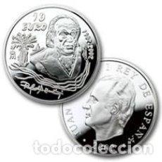 Monedas FNMT: PRIMER CENTENARIO NACIMIENTO DE RAFAEL ALBERTI. FNMT. 10 EURO (8 REALES). 2002. PLATA. Lote 74983687
