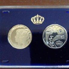 Monedas FNMT: 500 PESETAS EN ACERO DE PRUEBA. Lote 76972289