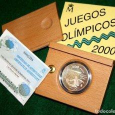 Monedas FNMT: 1000 PESETAS 1999 JUEGOS OLIMPICOS 2000 PLATA ESPAÑA SILVER AR FNMT. Lote 77569201