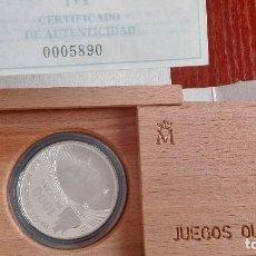 Monedas FNMT: MONEDA DE PLATA DE 1000 PESETAS DE LOS JUEGOS OLIMPICOS DE 1996. Lote 79167285