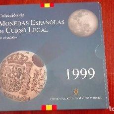 Monedas FNMT: CARTERA OFICIAL DE ESPAÑA FNMT 1999. Lote 79168353