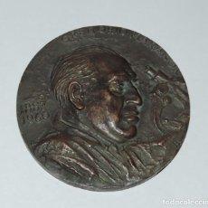 Monedas FNMT: MEDALLA F.N.M.T. GREGORIO MARAÑÓN. 1.960, MEDALLA HOMENAJE A D. GREGORIO MARAÑÓN, ACUÑADA POR LA FÁB. Lote 81996744