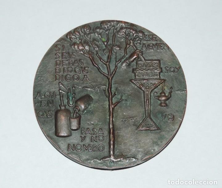 Monedas FNMT: MEDALLA F.N.M.T. GREGORIO MARAÑÓN. 1.960, MEDALLA HOMENAJE A D. GREGORIO MARAÑÓN, ACUÑADA POR LA FÁB - Foto 2 - 81996744
