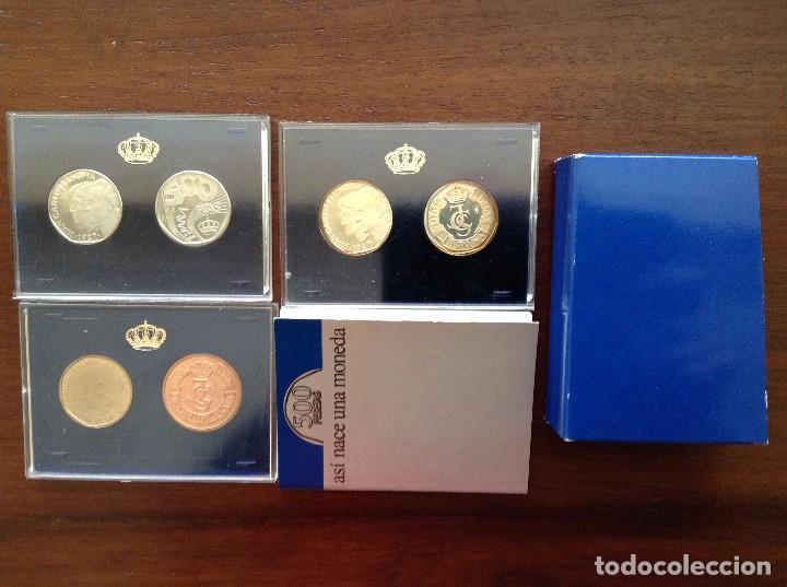 COLECCIÓN MONEDAS 500 PESETAS DE PRUEBA (Numismática - España Modernas y Contemporáneas - FNMT)