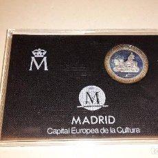 Monedas FNMT: ESTUCHE CON MONEDA 200 PESETAS PLATA. FNMT 1992. MADRID CAPITAL EUROPEA DE LA CULTURA. Lote 82658948