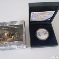 Monedas FNMT: 10 EURO * 2008 * BICENTENARIO DE LA GUERRA DE LA INDEPENDENCIA * PLATA. Lote 86724956