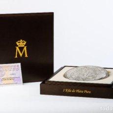 Monedas FNMT: ESPAÑA 300 EURO PLATA 2017 HISTORIA DEL DOLAR - 1 KILOGRAMO PLATA PURA. Lote 87575588