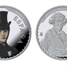 Monedas FNMT: ESPAÑA: 10 EURO PLATA 2017 PROOF MANET Y LAWRENCE - V SERIE TESOROS DE MUSEOS. Lote 92134835