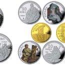 Monedas FNMT: ESPAÑA: SERIE COMPLETA PLATA Y ORO 2017 V SERIE TESOROS DE MUSEOS ESPAÑOLES. Lote 92140375