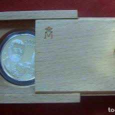Monedas FNMT: ESTUCHE 2000 PESETAS PLATA 2001 CENTENARIO MUERTE LEOPOLDO ALAS CLARIN CON CERTIFICADO. Lote 92770155