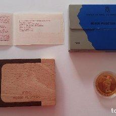 Monedas FNMT: MONEDA DE ORO GOLD JUEGOS OLÍMPICOS DE BARCELONA. AÑO 1990. SERIE I. 80000 PTAS. ESPAÑA. FNMT. FDC. Lote 95622187