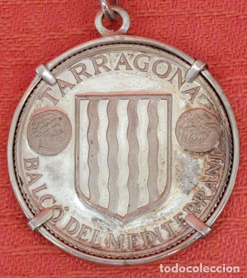 Monedas FNMT: MONEDA - LLAVERO DE PLATA - TARRAGONA BALCÓ DEL MEDITERRANI - Foto 3 - 95807143