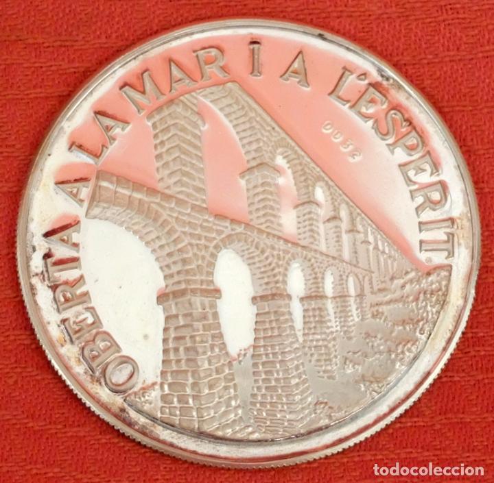 Monedas FNMT: MONEDA EN PLATA- TARRAGONA BALCÓ DEL MEDITERRANI - Foto 4 - 95807963