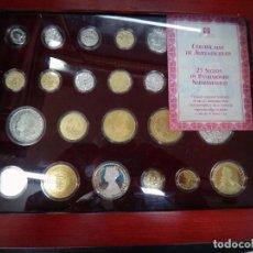Monedas FNMT: CAJA DE MONEDAS DE PLATA , 25 SIGLOS DE PATRIMONIO NUMISMATICO, CON GARANTIA , ORIGINAL. Lote 101299931