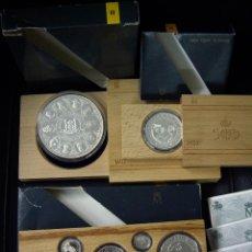 Monedas FNMT: 2ª SERIE COMPLETA PLATA - QUINTO CENTENARIO 1990 - OCASION. Lote 103665667