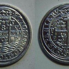 Monedas FNMT: MONEDA DE FELIPE V 8 REALES 1702 POTOSI. Lote 196419412