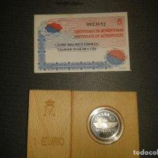 Monedas FNMT: UN EURO 1997 MAURICE FARMANT. Lote 105520191