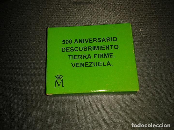 MONEDA 3 EUROS PROOF 500 ANIVERSARIO DESCUBRIMIENTO VENEZUELA (Numismática - España Modernas y Contemporáneas - FNMT)