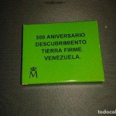Monedas FNMT: MONEDA 3 EUROS PROOF 500 ANIVERSARIO DESCUBRIMIENTO VENEZUELA. Lote 144791738