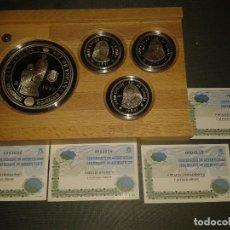 Monedas FNMT: CENTENARIO CASA BORBON 1997 SERIE PLATA. Lote 105657555