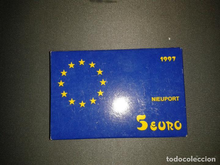 Monedas FNMT: Cinco euros 1997 nieuport, homenaje a la aviación - Foto 2 - 105951447
