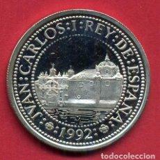Monedas FNMT: MONEDA PLATA , 500 PESETAS 1992 , QUINTO CENTENARIO , PROOF , ORIGINAL , B6. Lote 107664243