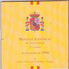 Monedas FNMT: CARTERA PESETAS 1998 ESPAÑA, FNMT, JUAN CARLOS I. Lote 109444491