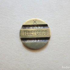 Monedas FNMT: FICHA DE TELEFONOS AÑOS 60. Lote 112608435