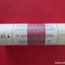Monedas FNMT: CARTUCHO FNMT - 40 MONEDAS - 25 PESETAS - AÑO 1975 - ESTRELLA 78... R-8424. Lote 113143127