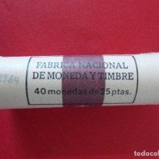 Monedas FNMT: CARTUCHO FNMT - 40 MONEDAS - 25 PESETAS - AÑO 1984... R-8431. Lote 113154607