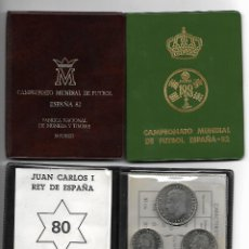 Monedas FNMT: CARTERA OFICIAL F.N.M.T. CAMPEONATO MUNDIAL DE FUTBOL ESPAÑA 82 -1980- SC. Lote 113686919