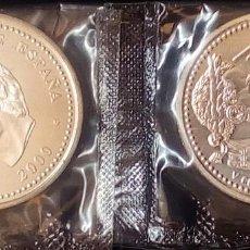 Monedas FNMT: ESPAÑA 2000 PESETAS CONMEMORATIVA AÑO 2000-500 ANIV.NACIMIENTO CARLOS V-PLATA 925-FUNDA. Lote 194537857