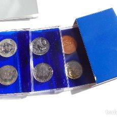 Monedas FNMT: ESTUCHE PRUEBAS DE LA FÁBRICA NACIONAL DE MONEDAS Y TIMBRE - 500 PESETAS. PLATA, ACERO Y COBRE. Lote 115940035