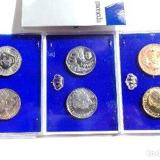 Monedas FNMT: ESTUCHE PRUEBAS DE LA FÁBRICA NACIONAL DE MONEDAS Y TIMBRE - 500 PESETAS. PLATA, ACERO Y COBRE. Lote 115942131