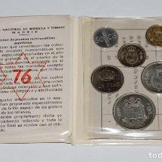 Monedas FNMT: CARTERA PRUEBA NUMISMATICA DE LA F.N.M.T. 1976 - JUAN CARLOS I. Lote 117360919