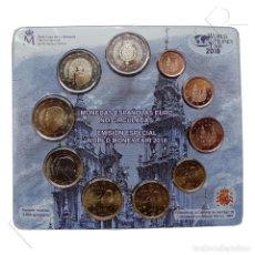 Monedas FNMT: EUROSET ESPAÑA 2018 - WORLD MONEY FAIR '18 - BERLIN 2018. Lote 117794323