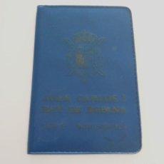 Monedas FNMT: CARTERA OFICIAL CON SERIE NUMISMÁTICA PESETAS 1975 *76. JUAN CARLOS I. Lote 119396875