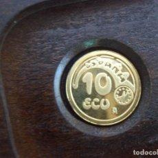 Monedas FNMT: 10 ECU ESPAÑA 1989 ORO FNMT. Lote 120077939