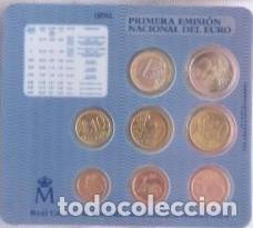Monedas FNMT: OFERTA - ESPAÑA CARTERA OFICIAL -BLISTER- F.N.M.T. AÑO 2002 *PRIMERA EMISION DEL EURO* - Foto 2 - 195613060