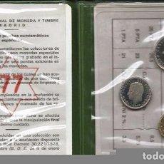 Monedas FNMT: CARTERA JUAN CARLOS I PROOF 1977 F.N.M.T. PARA COLECCIONITAS. Lote 148778696