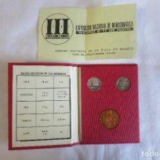 Monedas FNMT: III EXPOSICIÓN NACIONAL DE NUMISMÁTICA 1987. Lote 156999810