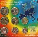 Monedas FNMT: OFERTA - ESPAÑA CARTERA OFICIAL -BLISTER- F.N.M.T. AÑO 2002 *PRIMERA EMISION DEL EURO* PERFECTA. Lote 122522311