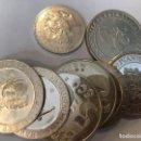 Monedas FNMT: COLECCION DE 7 MONEDAS DE PLATA DISTINTOS TEMAS. Lote 124557759