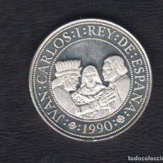 Monedas FNMT: AÑO 1990.- 5000 PTAS PLATA V CENTENARIO. 2 SERIE AÑO 1990. Lote 125263775
