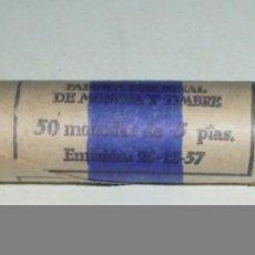 Monedas FNMT: CARTUCHO ORIGINAL DE 5 PESETAS DE 1957*69. Lote 125416919