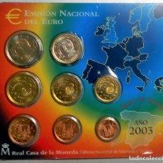 Monedas FNMT: ESPAÑA CARTERA OFICIAL -BLISTER- F.N.M.T. AÑO 2003 *EMISION OFICIAL DEL EURO*. Lote 172940269