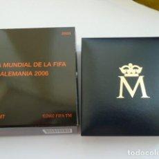 Monedas FNMT: 10 DE EUROS PLATA ESPAÑA 2003,COPA MUNDIAL DE LA FIFA ALEMANIA 2006, 8 REALES. Lote 128058267