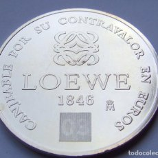 Monedas FNMT: MONEDA LOEWE CANJEABLE POR SU CONTRAVALOR EN EUROS. Lote 129377451