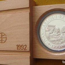 Monedas FNMT: 5000 PESETAS 1990 ARTESANIA INDIGENA FDC. Lote 129444731